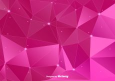 Free vector Pink Polygonal Vector Background #17322