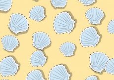 Free vector Shell pattern background #18665