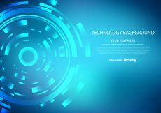 Free vector Technology Vector Background #17439
