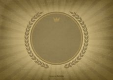 Free vector Textured Sunburst Background w/Blank Label #13078
