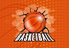 Free vector Basketball Texture Background #13180