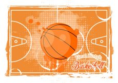 Free vector Basketball Texture Background #13276