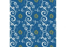 Free vector Blue Seamless Floral Background #15226