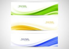Free vector Brazilian Flag Headers #18285