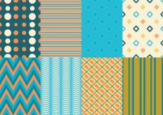 Free vector Retro Texture & Pattern Pack #15750