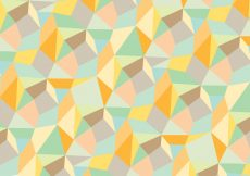 Free vector Trendy abstract geometric pattern background #12996