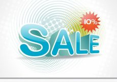 Free vector Abstract funky sales design #21133