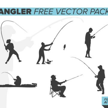 Free vector Angler Free Vector Pack #20214