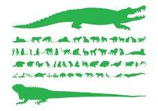 Free vector Animal Silhouettes Set #22114