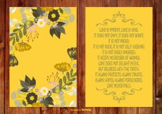 Free vector Beautiful Floral Poem Card #21657