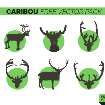Free vector Caribou Free Vector Pack #22301