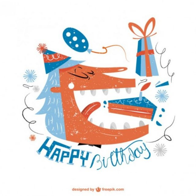 Free Birthday Vectors – labels, patterns, card templates and more