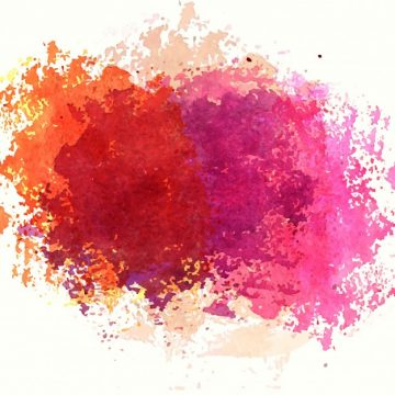 Free vector Colorful watercolor stain design #22288