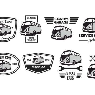 Free vector Free Classic Car Vector Pack #22285