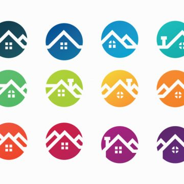 Free vector Free Colorful Rooftops Vector #22305