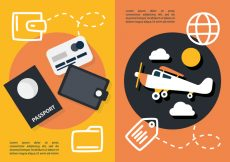 Free vector Free Flat Travel Concept Vector #20948