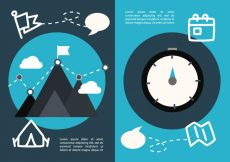 Free vector Free Flat Travel Concept Vector #20950