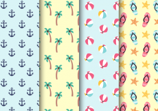 Free vector Free Summer Holiday Pattern #20632