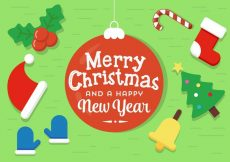Free vector Free Vector Christmas Elements #21675