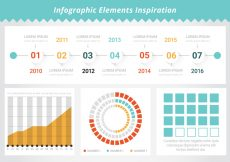 Free vector FreeI Infographic Tools Vector Elements #19825