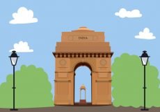 Free vector India Gate Free Vector #22526
