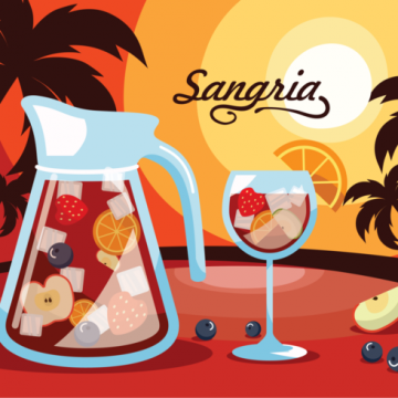Free vector Sangria, Traditional Spanish Drink #20472