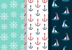 Free vector Free Vintage Summer Holiday Patterns #21495