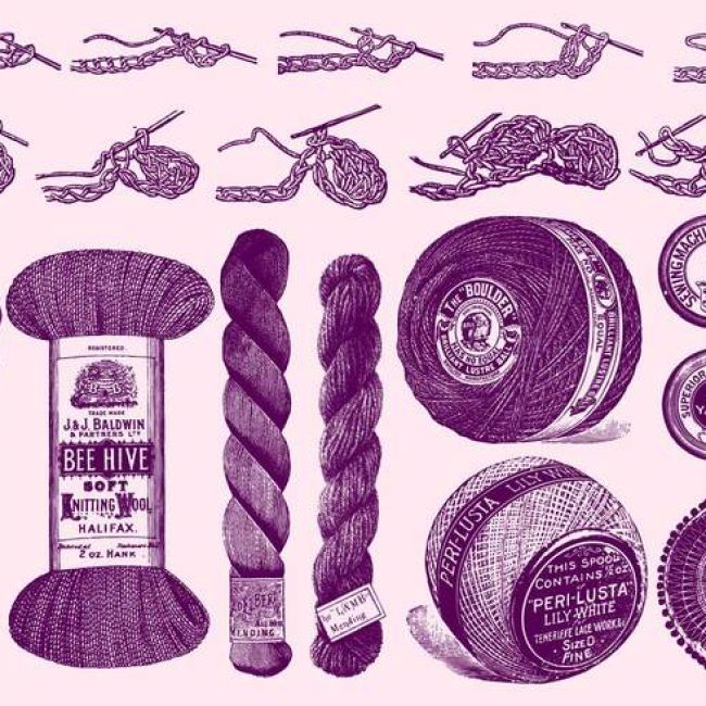 Knitting Stitches Vector : Free vector Knitting Tools And Instructions #20224 My Graphic Hunt