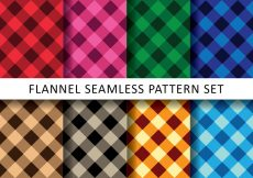 Free vector Colorful Flannel Pack #24388
