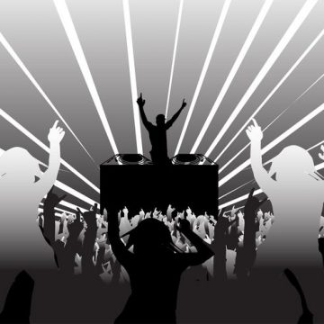 Free vector Disco Party Layout #23743