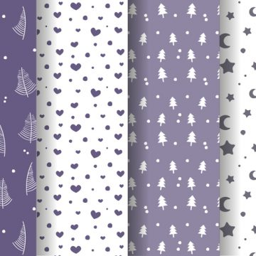 Free vector Free Winter Pattern Vector #24402