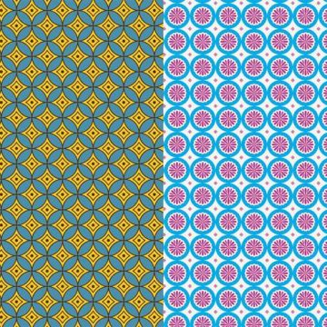Free vector Seamless Patterns Vector #24394