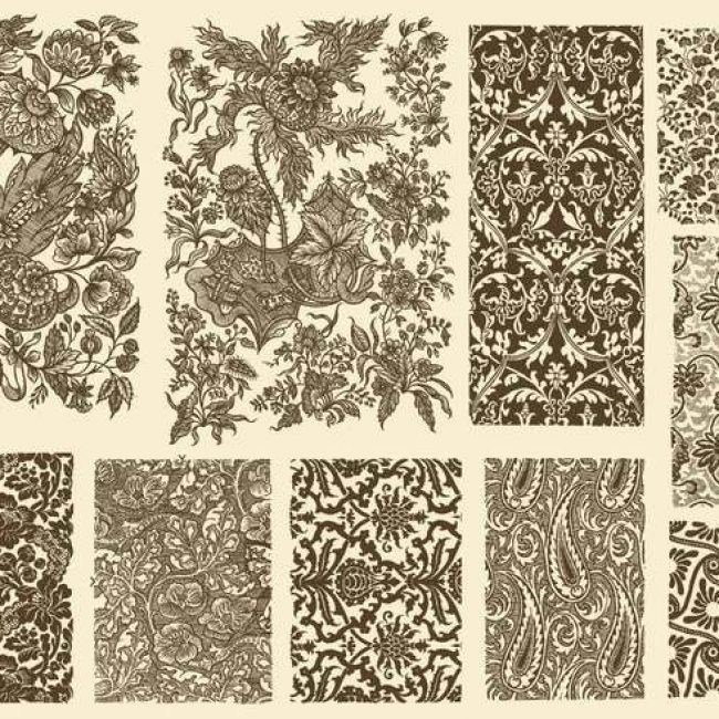 Free vector Toile Decoration #24410