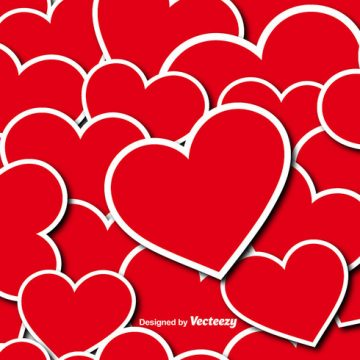 Free vector Vector Hearts Seamless Pattern #24382