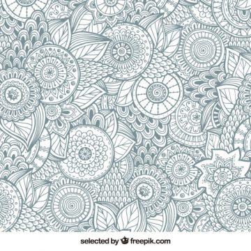 Free vector Abstract floral background #13