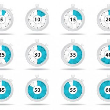 Free vector Vector stopwatch icons set #7