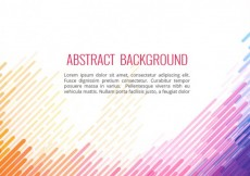 Free vector Abstract background in colorful style #2282