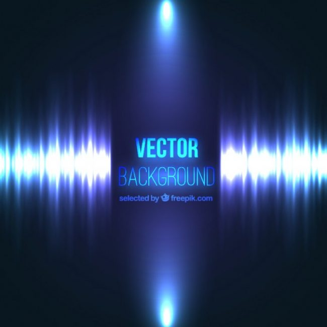 Free vector Abstract background with a sound wave #1782