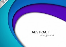 Free vector Abstract background with blue layers #3527