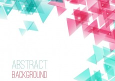 Free vector Abstract background with triangles #487
