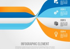 Free vector Abstract infographic #3754
