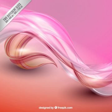 Free vector Abstract waves background in pink tones #153