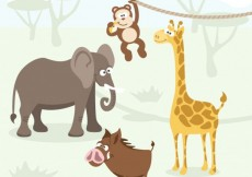 Free vector African animals #1378