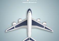 Free vector Airplane in top view #1461