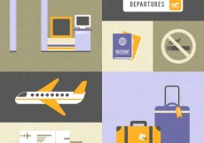 Free vector Airport elements #2223