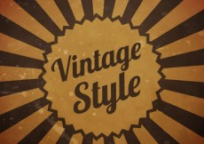 Free vector Background in vintage style #383