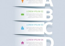 Free vector Banners infographic template #1706