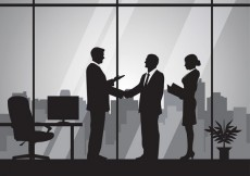 Free vector Business people silhouettes #2855