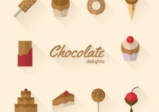 Free vector Chocolate delights #2241