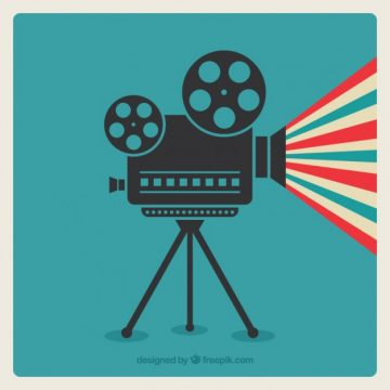 Free vector Cinema camera #631